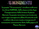 'U MONUMENTU ; 'U LAMIENTU DE PAPARI ;GRAZIE GORUZZU