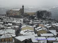 Chiaravalle sotto la neve