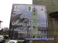 SANTUARIO MARIA SANTISSIMA DELLA PIETRA CHIARAVALLE CENTRALE