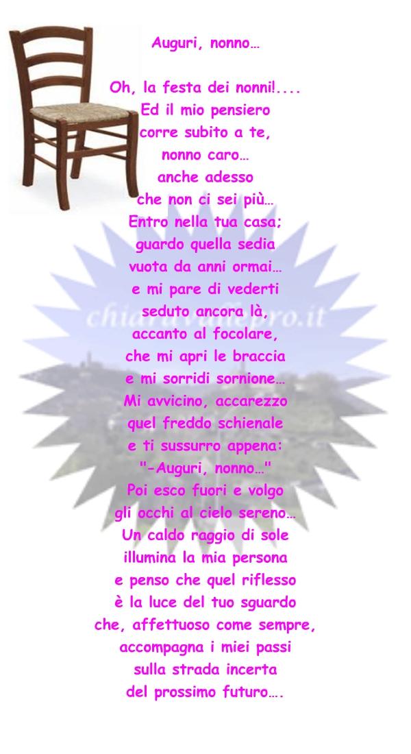 Molto Chiaravalle Centrale » LA FESTA DEI NONNI MN69