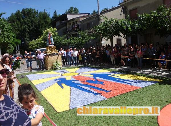 INFIORATA VALLELONGA 2019 MADONNA MONSERRATO