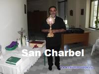 LE RELIQUE DI SAN CHARBEL a  CHIARAVALLE