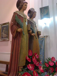 processione santi medici 2010